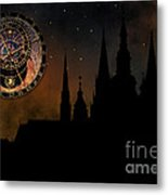 Prague Casle - Cathedral Of St Vitus - Monuments Of Mysterious C Metal Print