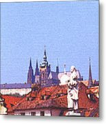 Prague Castle Metal Print by Steve Huang