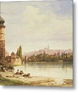 Prague Czechoslovakia Metal Print