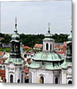 Prague Panorama Metal Print