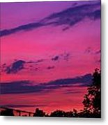 Prague Sunset Metal Print