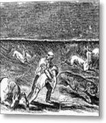 Prairie Fire, 1844 Metal Print