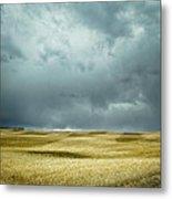 Prairie Storm Alberta Metal Print