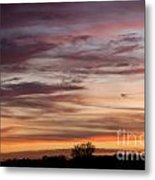 Prairie Sunset No3 Metal Print