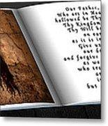 Prayer Book Metal Print