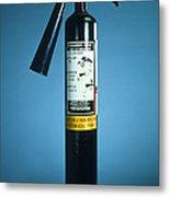 Pre-1997 Uk Co2 Fire Extinguisher Metal Print