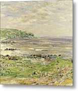 Preaching Of St. Columba Iona Inner Hebridies Metal Print by William McTaggart