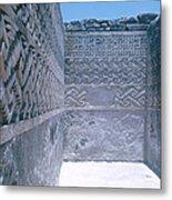 Prehistoric Ruins Of Mitla Metal Print