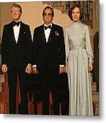 President And Rosalynn Carter Metal Print by Everett