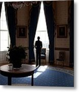 President Barack Obama The Day Metal Print by Everett