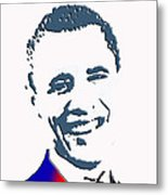 president of the United States Metal Print