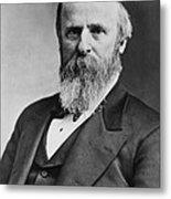 President Rutherford B. Hayes Metal Print