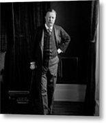 President Theodore Roosevelt - Portrait Metal Print