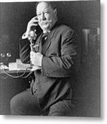 President William Taft 1857-1930 Using Metal Print by Everett