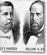 Presidentail Campaign, 1880 Metal Print