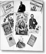 Presidential Campaigns Metal Print