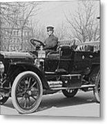 Presidents Tafts,white Touring Car That Metal Print