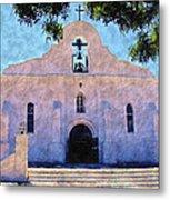 Presido Chapel San Elizario Texas Metal Print