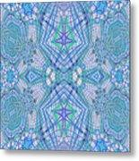 Pretty Blue Metal Print