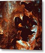 Pretty Oak Leaves Metal Print
