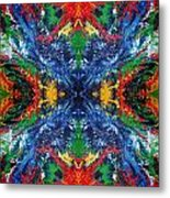 Primary Abstract I Design Metal Print