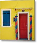Primary Colors Metal Print