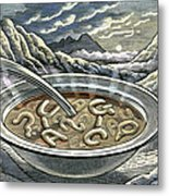 Primordial Soup Metal Print by Bill Sanderson
