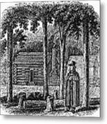Prince Demetrius Augustine Gallitzin (1770-1840) Metal Print
