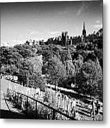 Princes Street Gardens Edinburgh Scotland Uk United Kingdom Metal Print by Joe Fox