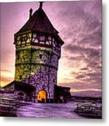 Princes Tower Metal Print