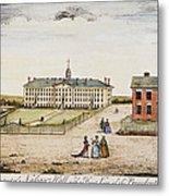 Princeton College, 1764 Metal Print