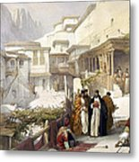 Principal Court Of The Convent Of St. Catherine Metal Print