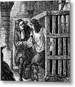 Prison: Cage, 17th Century Metal Print