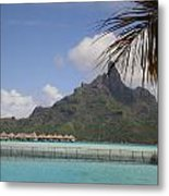Private Island Lookout Metal Print