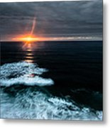 Projection Metal Print