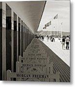 Promenade Des Planches Metal Print