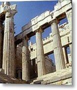 Propylaia Acropolis Metal Print