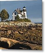 Prospect Harbor Lighthouse Metal Print