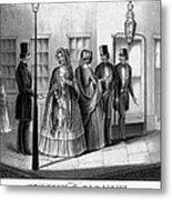 Prostitution, 1850 Metal Print