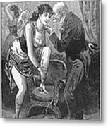 Prostitution, C1880 Metal Print