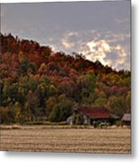 Protected By Hills Many Years Metal Print