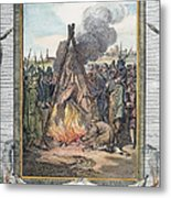 Protestant Martyrs, 1563 Metal Print