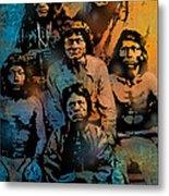 Proud Apache Scouts Metal Print