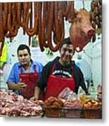 Proud Butchers Metal Print