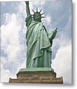 Proudly She Stands Metal Print