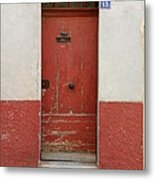 Provence Door 13 Metal Print