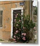 Provence Door Number 9 Metal Print