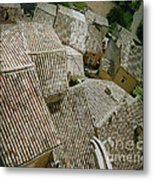 Provence Rooftops Metal Print