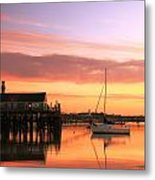 Provincetown Harbor Before Sunrise Metal Print