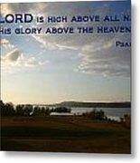 Psalm 113 4 Metal Print